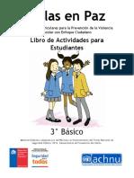 Cuadernillo estudiantes 3° básico. Aulas en Paz Chile (protegido)