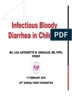 Infectious Bloody Diarrhea in Children