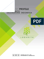 Company Profile PT Logarith Engineering Indonesia