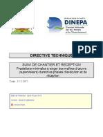 5.1.2 DIT1 Suivi de Chantier Et Reception