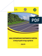 Manual Centroamericano de Mantenimiento de Carreteras con Enfoque de Gestion de Riesgo y Seguridad.pdf