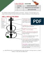 Lesson 3 - Violin Hold