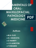 Fundamentals of Oral-maxillofacial Pathology & Medicine