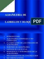Construccion II Albañileria