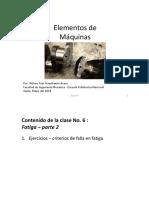 Lecture 6-Fatiga Ejercicios