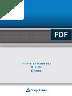 Instalacion Ethernet HTP 250