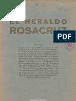 El Heraldo Rosacruz. 4-1935, n.º 3