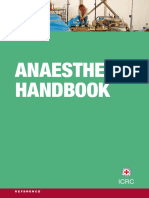Handbook Anaesthesia