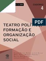 Caderno nº 4 – Residência Agrária UnB – Teatro Político , Formação e Organização Social