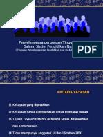 2. Penyelenggaraan PTS