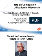 Ramme - An Update on Combustion Products Utilization in Wisconsin 41916