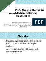 Review Fluid Statics
