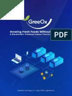 GreeOx Lite Page 2018