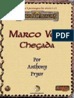 Marco Volo - Chegada