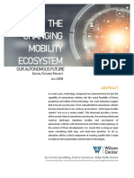 The Changing Mobility Ecosystem