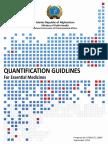 Quant Guid Quantification