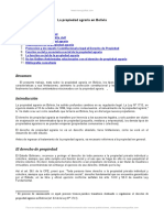 Monografia Propiedad Agraria Bolivia