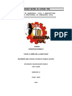 Visita a Obra en La Universidad Nacional Del Altiplano
