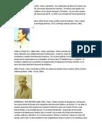 Escritores Hondureños