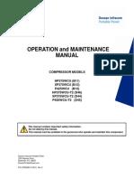 Doosan Compressor P425WCU, XP375WCU and HP375WCU