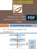 FISIOLOGIA REGULACION DE T° y AINES
