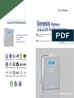 Genesis Platinum Manual 8090
