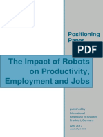 IFR the Impact of Robots on Employment Positioning Paper Updated Version 2018