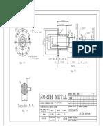 North Metal-eje de Bomba-modelo