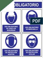 Afiche Seguridad Chico EPP
