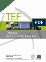 Tableaux Économie Française 2018
