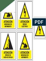 Afiches de Seguridad Peligro