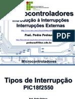 Aula 06 IntroducaoInterrupcoes IntExternas