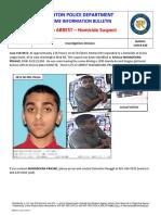 Homicide Bulletin