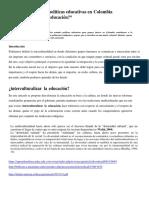 Multiculturalismo y políticas educativas en Colombia.docx