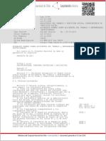 Ley 16744 Normas Sobre Accidentes Del Trabajo y Enfermedades Profesionales Pdf131 Kb