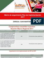 Dires San Martin 2017