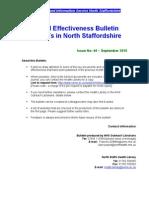 Clinical Effectiveness Bulletin 44, September 2010
