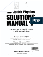 The Health Physics Solution Manual