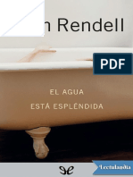 El Agua Esta Esplendida - Ruth Rendell