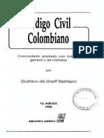 BELM-4754(Código Civil Colombiano Concordado, -Greiff)