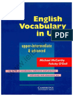 English Vocabulary for STUDENTS