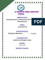 Tarea Vii Fundamento y Estructura Del Currículo Dominicano