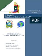 INFORME Prácticas de Gestión Institucional I Casif4