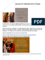 Hoy inicia la novena por la Visitación de la Virgen María.doc