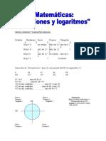 Funciones y Logaritmos.doc