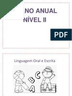 Planejamento Infantil Nível II