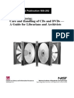 CD and Dvd Care and Handling Guide