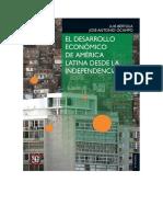 El Desarrollo Economico de America Latina, Tapa