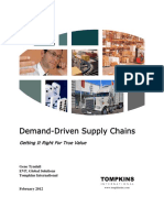 Demand Driven Supply Chains