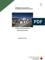 LIC Plan de Gestion Integral de Desechos HGDC